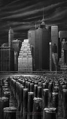 ALL THAT JAZZ -  Manhattan Pier, New York City (Julia-Anna Gospodarou) Tags: newyorkcity newyorkarchitecture hudsonriver envisionography photographydrawing architecturalphotography newyorkskyline fineartarchitecturalphotography juliaannagospodarou