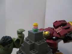 Knight B. #LEGOEaster (JellyBeanie81) Tags: race legoeaster hulk hulkbuster marvel insanelydangerous brickset