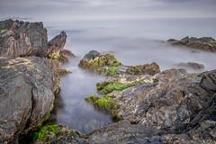 Playa de las Minas II (Photandr) Tags: rocas rocks seda agua mar silk algas playa mazarrón murcia paisaje beach seascape coast longexposure cokin