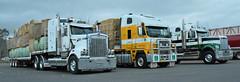 Scone Charity Hay Run 2017 (Bourney123) Tags: freightliner westernstar kenworth hay t904 truck trucks trucking highway haulage scone newsouthwales loaded fire truckstop shine chrome diesel tutt bryant