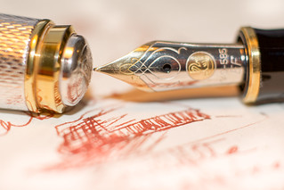 sketch pen reflecting