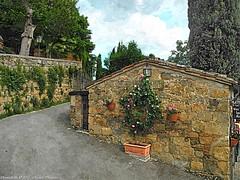 Montichiello Il borgo, The Ancien village (michele masiero) Tags: italia siena toscana valdorcia montichiello