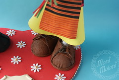zapatos fofucha traje regional (moni.moloni) Tags: banda pareja musica tuba traje regional zamora foamy danzas coros folclore fofucho gomaeva fofucha fofuchos fofuchas