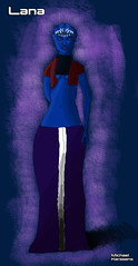 Lana (Michael Kerssens) Tags: fiction female sketch character science scifi mass effect asari