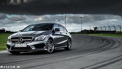 Mercedes CLA45 AMG Shooting Brake Witman Autodrom Pomorze-01481