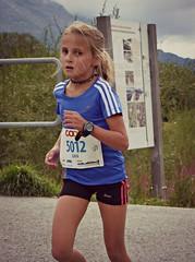 Gaia (Cavabienmerci) Tags: boy sports boys sport youth race children schweiz switzerland  child suisse running run runners pied runner engadin engadine lufer lauf 2015 graubnden grisons samedan coureur engadiner sommerlauf coureurs engiadina