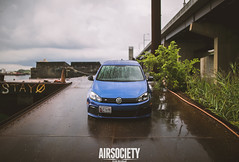 Random (Erik Breihof Photography) Tags: blue 6 golf out photography mark air low fresh clean r erik society offensive v2 airlift lowerstandards bagged aired mk6 fitment breihof