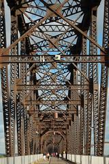 Big Four Bridge (robgividenonyx) Tags: railroad bridge kentucky rusty louisville ohioriver walkingbridge repurpose