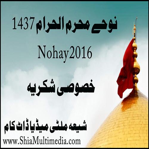 Nohay 2016 Muhrram ul Harram 1437 Special Thank's: Shia Multimedia