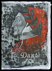 Mixed Media DANTE - copertina (Mire Le Fay) Tags: art book mixedmedia dante libro inferno dartista mirelefay