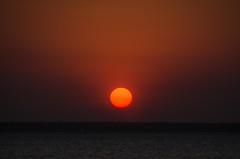 Red Sun (Guille Barbat) Tags: sunset australia darwin northernterritory mindilbeach redsun orangesun