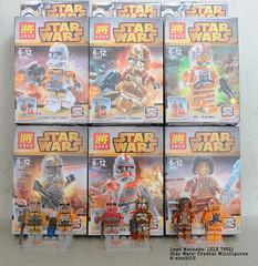 Lego Wannabe LELE Crystal Star Wars Minifigures (KatanaZ) Tags: starwars lego clones bootlegs minifigures