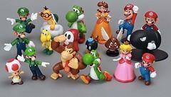 Super Mario Bros Figure  ขายโมเดล Super มาริโอ้ 1 set มี 18 ตัว สำหรับใครที่ มีครบแทบทุกตัวในเกมส์เลยจ้า สำหรับใครที่เป็นสาวกหรือชื่นชอบเล่นเกมส์ Mario ต้องชอบแน่นอน ไม่ใช่มาริโอ้ เมาเร่อ แต่เป็นเกมมาริโอ้นะจ๊ะ Super Mario PC ตอนนี้ก็มีให้เล่น หลังจากที่เ