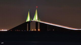 Sunshine Skyway: Light and Shadows