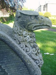 Griffin, Coombe Abbey (Aidan McRae Thomson) Tags: sculpture statue gardens griffin warwickshire coombeabbey