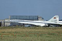 TU144 CCCP-77114 AEROFLOT (shanairpic) Tags: sst aeroflot jetairliner tu144 tupolevtu144