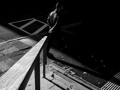 Taking point (Olderhvit) Tags: street blackandwhite lumix photography gothenburg streetphotography streetphoto minimalistic goteborg 2015 gatufoto framingthestreet olderhvit dmcgx7