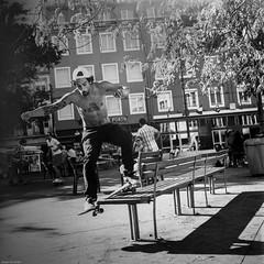 Look at my style... (Srgio Miranda) Tags: street blackandwhite bw 6x6 monochrome sergio mediumformat photography kodak tmax streetphotography miranda tmax400 analogphotography srgio 120mm kiev88 kodaktmax filmphotography kiev88cm filmisnotdead squarephotography