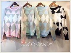 580฿#ส่งฟรีลงทะเบียนส่งemsเพิ่ม20บาทจ้า #สั่งซื้อไลน์ไอดีnoongninggeegyหรือคลิ้กลิ้งหน้าไอจีเลยจ้า New In!!! Pastel  Bunny Fur Triangle Sweatshirt เสื้อไหมพรมขนกระต่ายปุยๆโทนพาสเทลลายสามเหลี่ยม สวยงามมุ้งมิ้งแบ้วเว่อ เนื้อไหมพรมตัวนี้นุ่มนิ่มจับแล้วฟินมาก