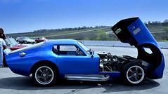 Pit stop at Harris Hill Raceway (austexican718) Tags: cobra shelby daytona coupe texascobraclub natashaatharrishill