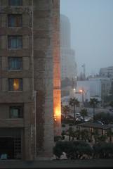 Dusty Afternoon in Amman - 2015.11.04 (jrozwado) Tags: weather hotel asia amman jordan hyatt dust الأردنّ عمّان jebelamman جبلعمان