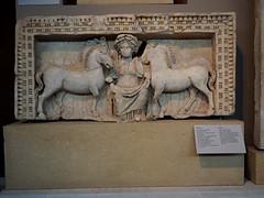 Epona , Celtic deity in the Roman world (mikescottnz) Tags: epona horsegoddess emperorgalerius gallicceltickeltoi mistressofanimalsgreekinfluence eponasalonika thessalonikimuseumgreece macedoniathrace divinemare romanmacedonia
