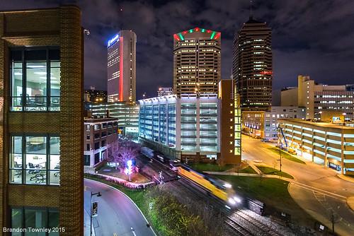 Union Pacific in Downtown Columbus, Ohio