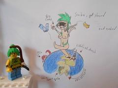 Sukia (TomKazutara) Tags: france green tower monster hair gate punk lego earth eifel german brandenburg miia hentai suika musume