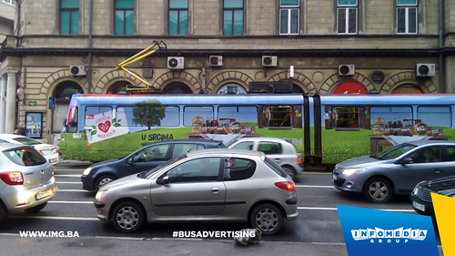 Info Media Group - Konzum, BUS Outdoor Advertising, Sarajevo 10-2015 (2)