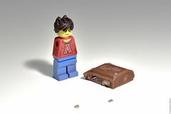 Pas de chocolat (@cpe) Tags: lego chocolate milka chocolat irl lgo legographer lgochocolatlego