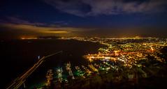 Castellamare del Golfo (Michele Naro) Tags: castellamaredelgolfo night nightshot sicily sicilia sizilien sicile nikond610 samyang14mmf28
