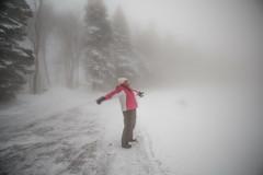 sunday-3075 (FarFlungTravels) Tags: winter ski skiing laurelhighlands pennsylvania reservoir morning sunrise foggy snow squall