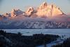 Dawn Breaks on the Tetons 2 (DigitalSmith) Tags: tetons grandtetonnationalpark mountains wyoming