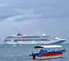 Sun Princess and Her Loyalists (Everyone Shipwreck Starco (using album)) Tags: kapal kapallaut ship cruiseship kapalpesiar sunprincess