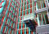 Blaak 16 Rotterdam 3D (wim hoppenbrouwers) Tags: blaak 16 rotterdam 3d blaak16 rotterdam3d anaglyph stereo redcyan