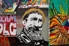El Capitano (Rasande Tyskar) Tags: graffity graffiti graffito hamburg stpauli streetart streetview streetshot street art urban urbanart wall mauer kunst strasenkunst urbane germany elcapitano fidel castro vivalarevolution