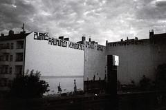 to be anarchist (Lup0s) Tags: nikonl35af nikon blackandwhite analog fujineopan1600 pull1000 trip architecture berlin gesundbrunnen prenzlauerberg