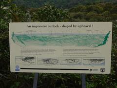 Best of All lookout, Springbrook National Park P1020237 (benhosg) Tags: australia springbrooknationalpark signboard