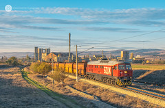 Farewell, 07 065! (cossie*bossie) Tags: bdz class 07 ludmilla diesel locomotive lugansk bulgarian railways cargo freight coal train kostinbrod tbd state sofia bulgaria afternoon sunset