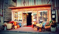 Boutique de produits régionaux - a real blast from the past (MickyFlick) Tags: beuvronenauge calvados lowernormandy bassenormandie france boutiquedeproduitsrégionaux