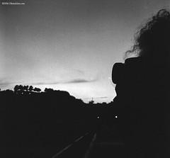Abruzzo with Rollina (`Olivier Jules`) Tags: rolleiflex k4c abruzzo abruzzi italia italy chieti vasto ortona porto mercato market napoli non ho fatto niente perchè me la volevo portare pesava troppo e poi stare con te fottevano sicuro cazzo di tag o veeeero cappello sciarpa dicevamo film poste italiane cancello una cippa lippa taci monciccì giostre amore mio blackandwhite