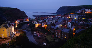 Staithes Blue Hour