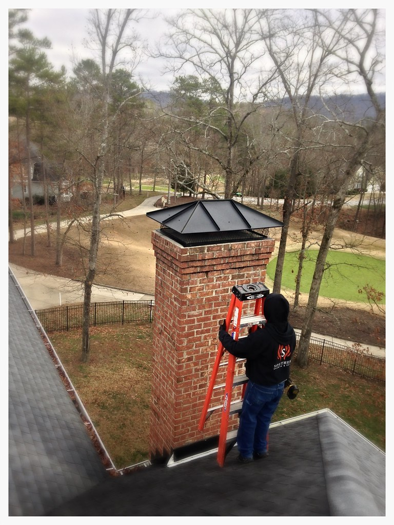 Custom Chimney Top. Chattanooga, Tn.