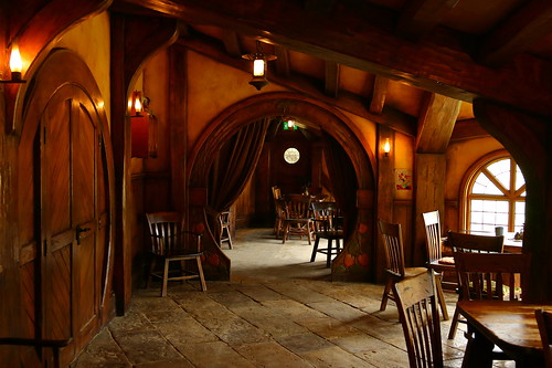 Inside the Green Dragon Hobbiton New Zealand