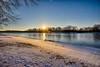 Winter Morning along the Illinois (kendoman26) Tags: winter hdr nikhdrefexpro2 niksoftware nikond3300 tokinaatx1228prodx tokina tokinaatx1228prodxf4 travellillinois travelillinois enjoyilinois illinoisriver sunburst