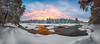 Sunset 27.12 (M.T.L Photography) Tags: landscape panorama clouds trees nordic winter nikond810 mtlphotography mikkoleinonen sunset koiteli kiiminki finland winterwonderland