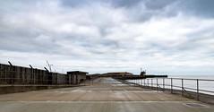 Gorleston Pier (Number Johnny 5) Tags: anglia tamron d750 boring banal east pier sea mundane deserted gorleston nikon 2470mm norfolk clouds