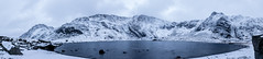 Cwm Idwal Lakeside (Jay Hughes Photography) Tags: cwmidwal mountains panorama mountainlake snow wales bethesda landscape