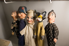Puppet characters
