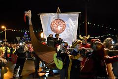 Viking Longboat Parade (Bri_J) Tags: flamboroughfirefestival newyearseve flamborough eastyorkshire uk yorkshire nikon d7200 festival vikinglongboat parade viking longboat